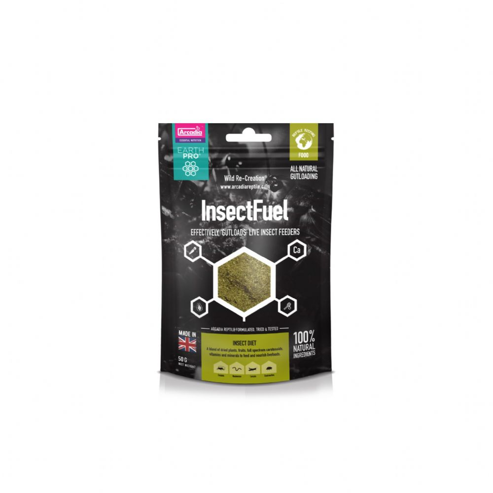 Arcadia Insect Fuel 50g Pouch